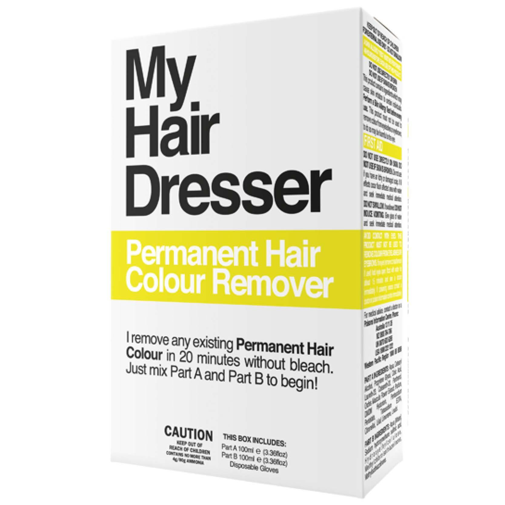 My hairdresser permanent hair colour remover 2 x 100ml life my hairdresser permanent hair colour remover 2 x 100ml solutioingenieria Choice Image