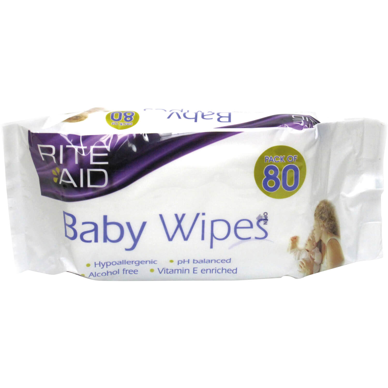 Rite Aid Extra Thick Baby Wipes 80s | Life Pharmacy New Zealand