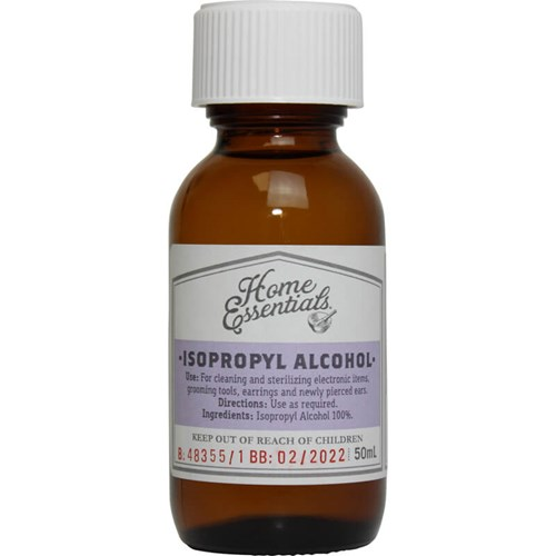 Home Essentials Isopropyl Alcohol 50ml | Life Pharmacy New
