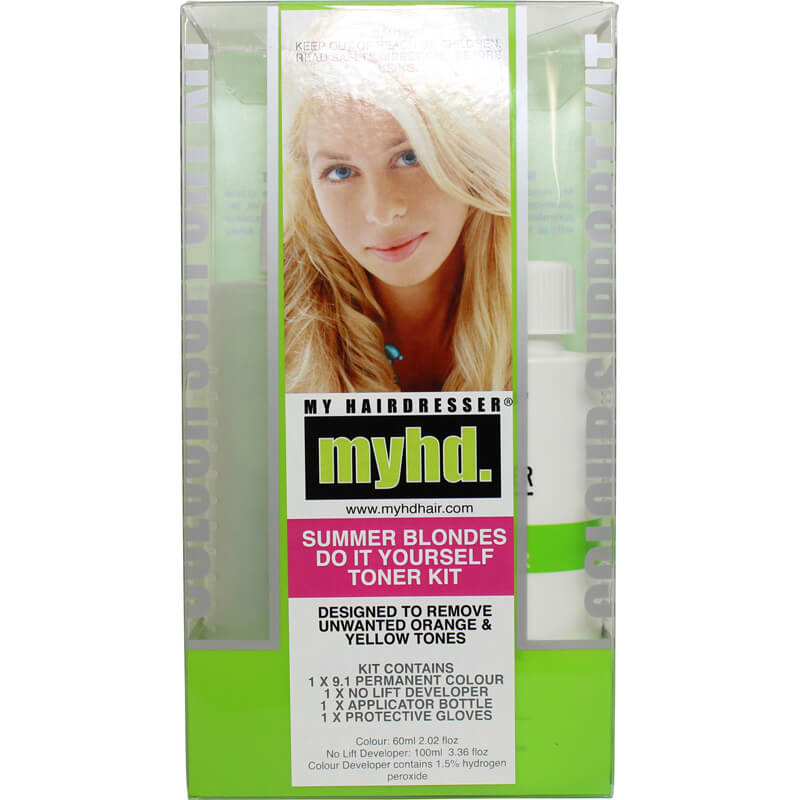 My hairdresser summer blondes do it yourself toner kit life my hairdresser summer blondes do it yourself toner kit solutioingenieria Image collections