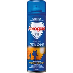 Aerogard Heavy Duty Insect Repellent 40% Deet 150g