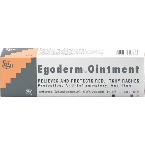 Ego Egoderm Ointment 25g | Life Pharmacy New Zealand