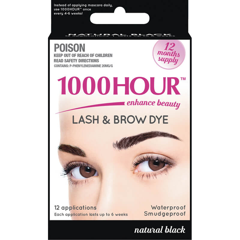 1000 Hour Lash Brow Dye Life Pharmacy New Zealand
